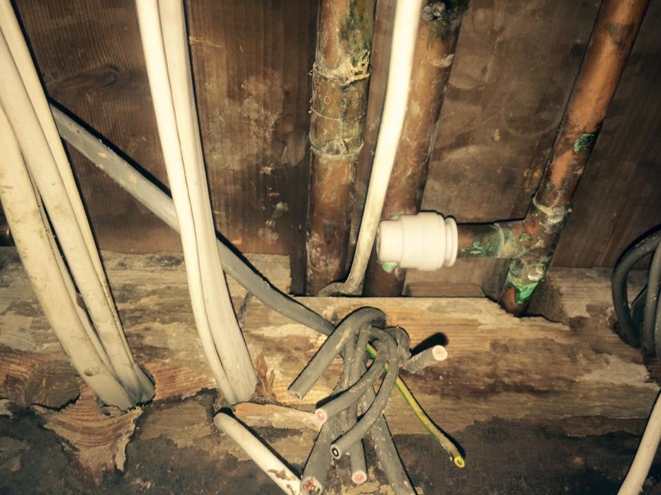 more drain repairs work